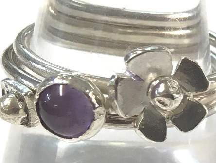Sterling Silver Jewellery - 3 Silver Rings in a day - with Melinda Scarborough