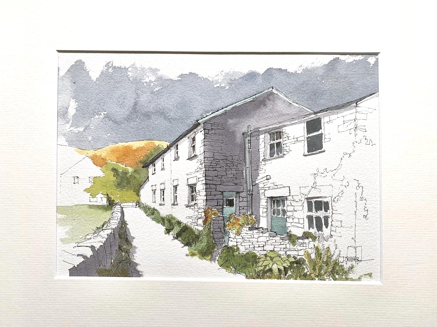 ** NEW ** 'Buildings in the Landscape'  using Line &  Wash with John Harrison