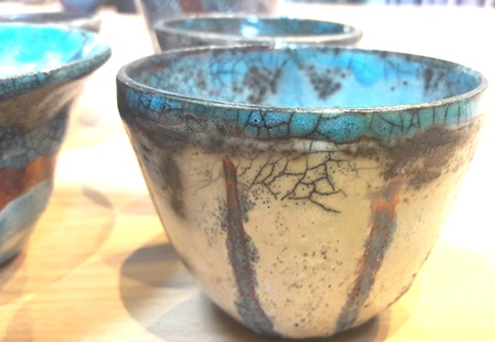 Firing pottery In The Raku Style with Dave Norman